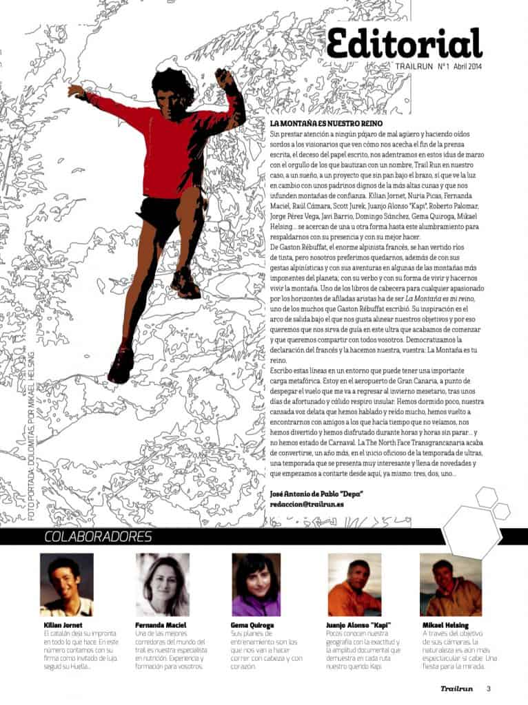 Editorial Revista TrailRun 1