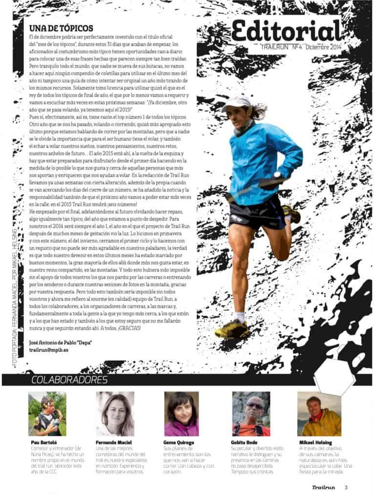 Editorial Revista TrailRun 4