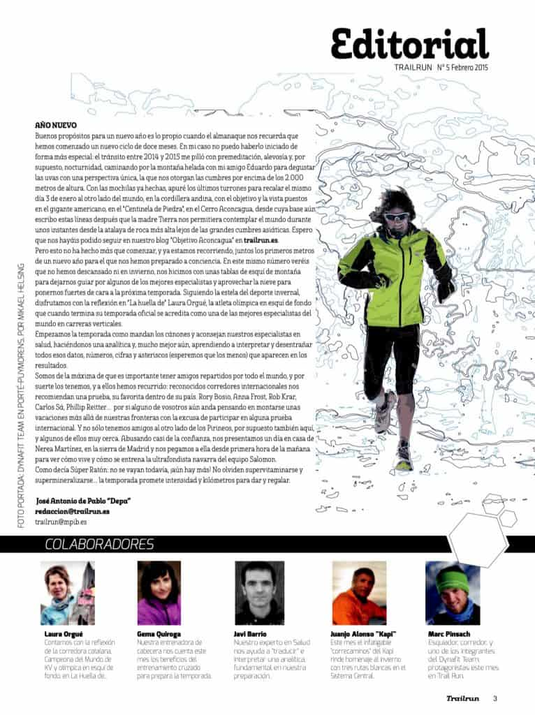 Editorial Revista TrailRun 5