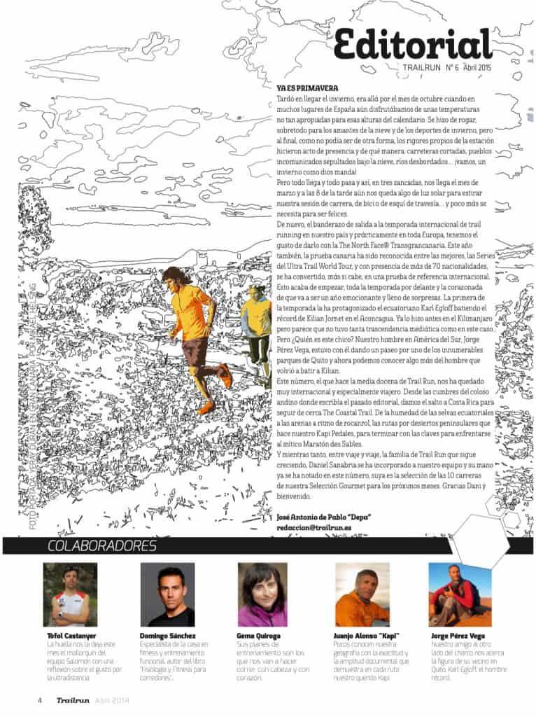 Editorial Revista TrailRun 6