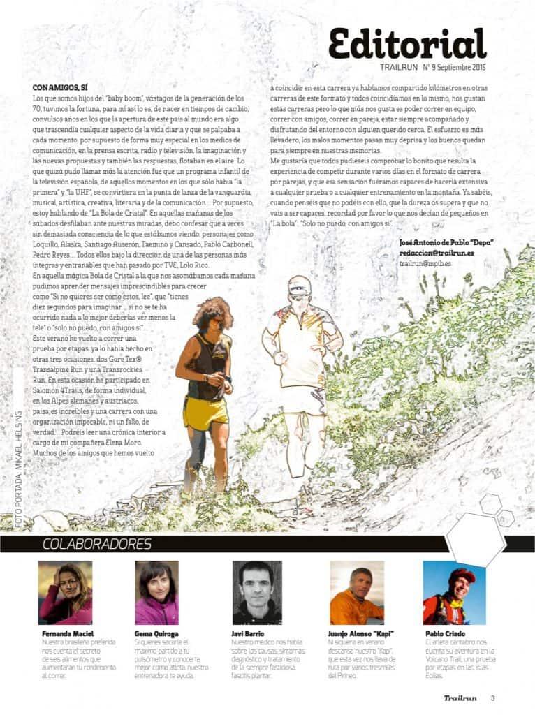Editorial Revista TrailRun 9
