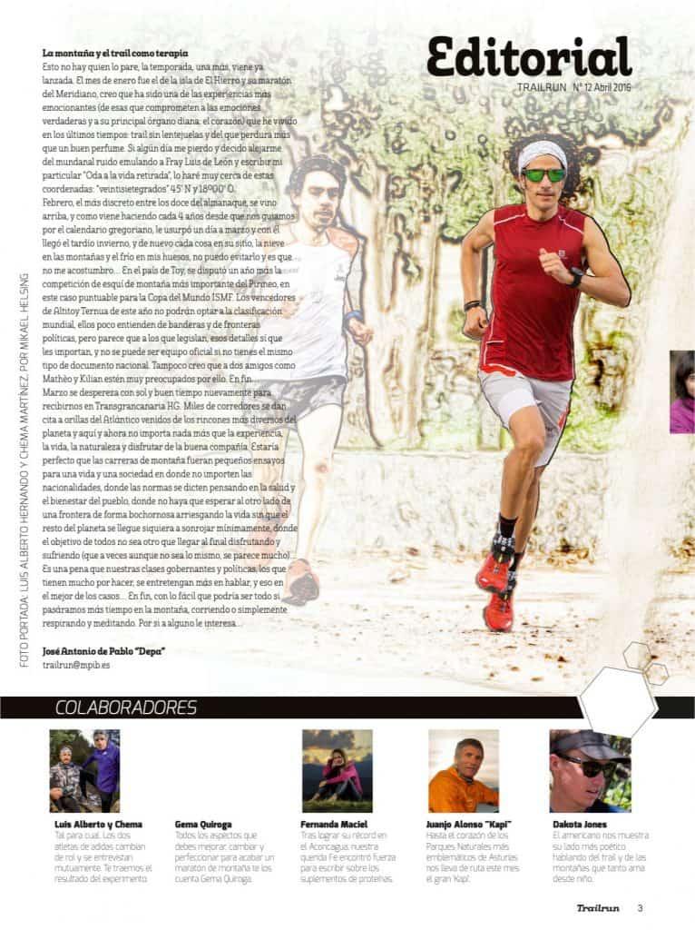 Editorial Revista TrailRun 12