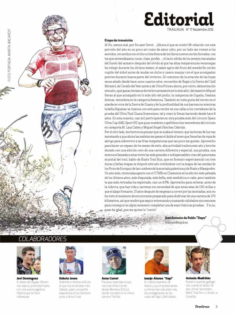 Editorial Revista TrailRun 17