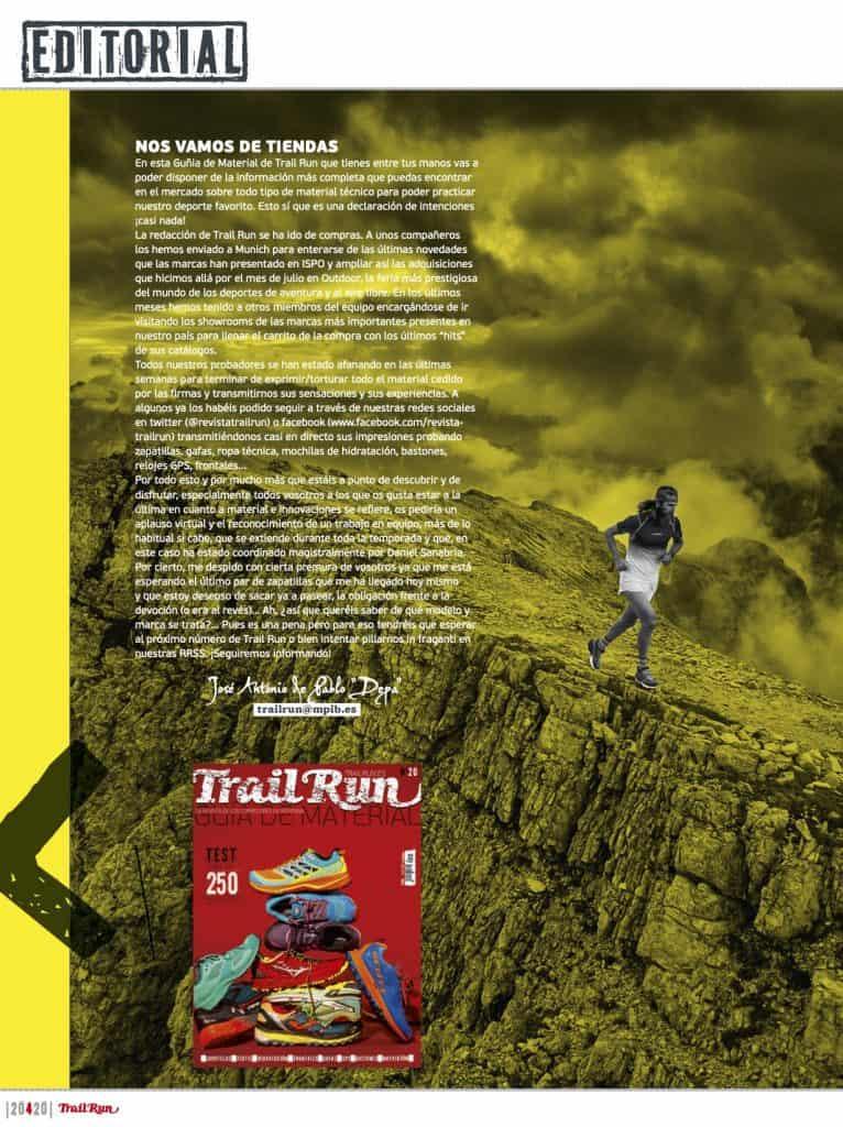 Editorial Revista TrailRun 20