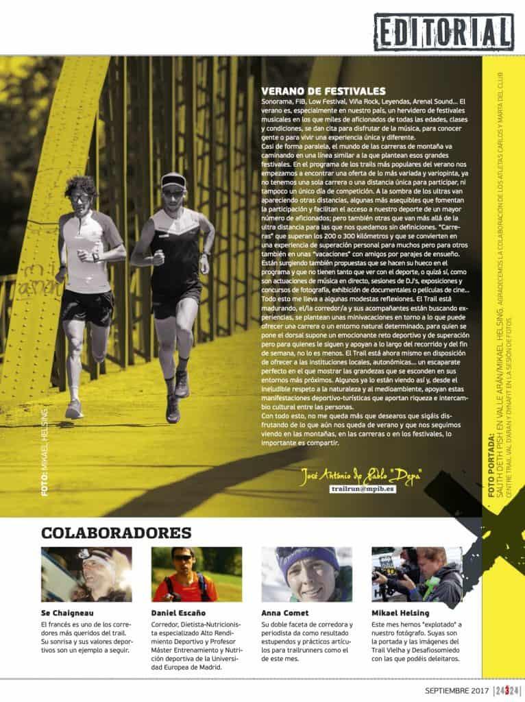 Editorial Revista TrailRun 24