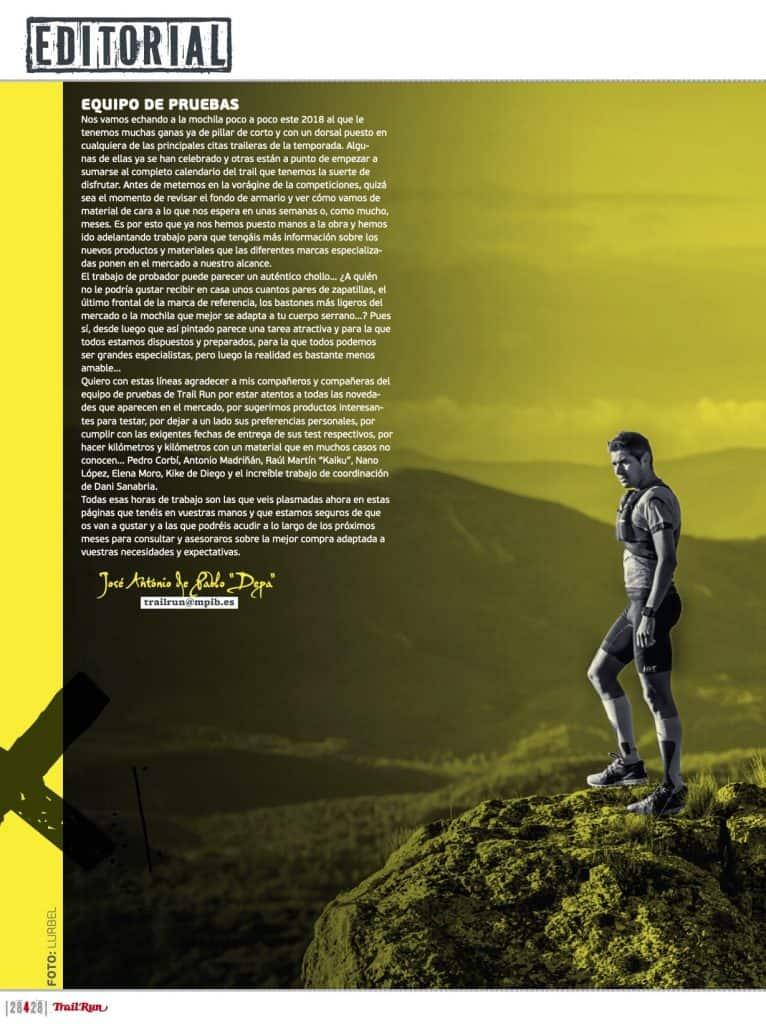 Editorial Revista TrailRun 28