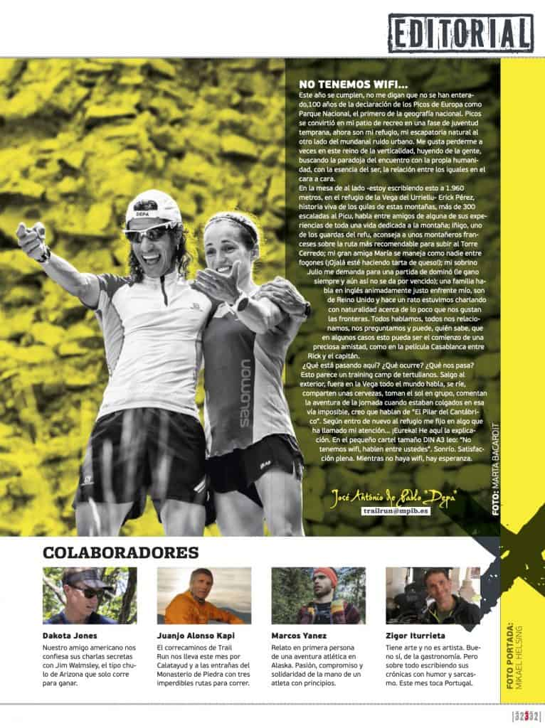Editorial Revista TrailRun 32