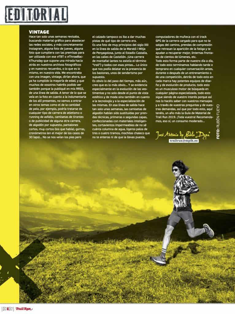 Editorial Revista TrailRun 37