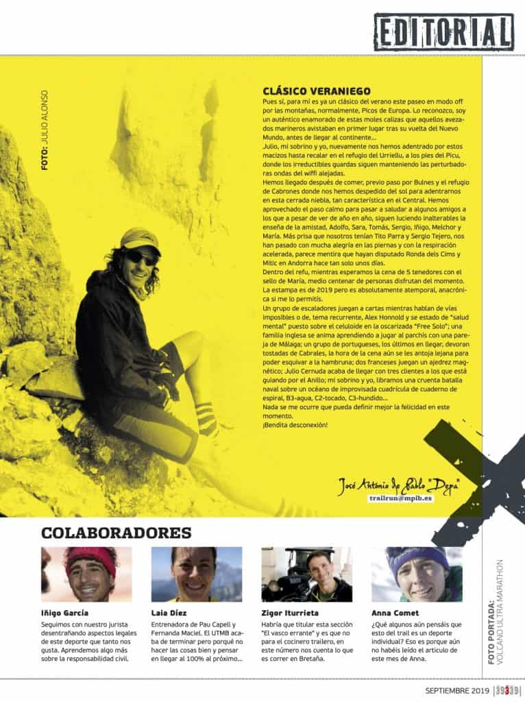 Editorial Revista TrailRun 39