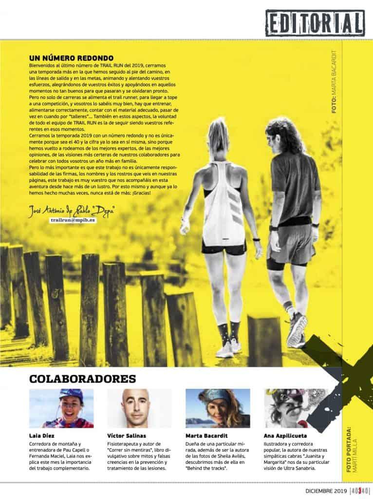 Editorial Revista TrailRun 40
